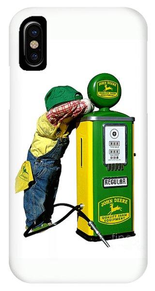 John Deere Kid IPhone Case