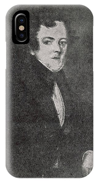 John Dickens  Father Of Charles Phone Case by Mary Evans Picture Library