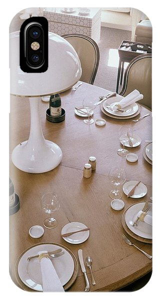 John Dickinson's Dining Table IPhone Case