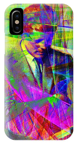 John Fitzgerald Kennedy Jfk In Abstract 20130610v2 IPhone Case