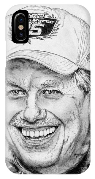 iPhone Case - John Force In 2010 by J McCombie