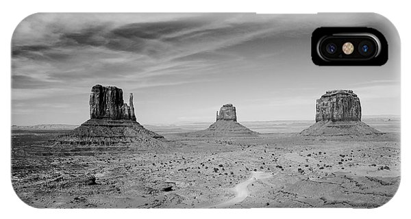 John Ford View Of Monument Valley IPhone Case