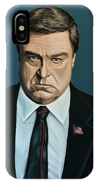 Santa Claus iPhone Case - John Goodman by Paul Meijering