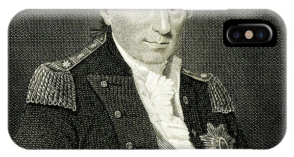 Jervis iPhone Case - John Jervis 1st Earl St Vincent  Naval by Mary Evans Picture Library