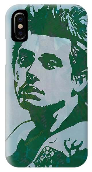 Clayton iPhone Case - John Mayer - Pop Stylised Art Sketch Poster by Kim Wang