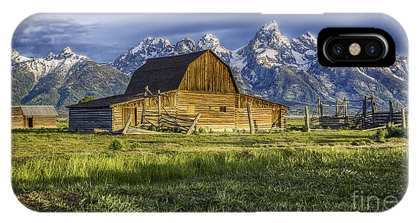 John Moulton Barn IPhone Case