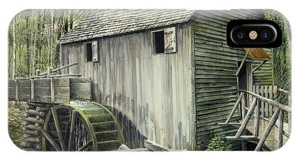John P. Cable Grist Mill IPhone Case