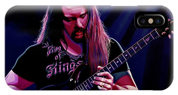 John Petrucci Painting IPhone Case