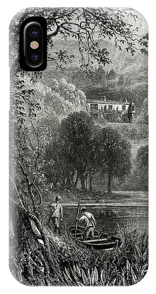 John Ruskin Home Of The English Art Phone Case by Mary Evans Picture Library