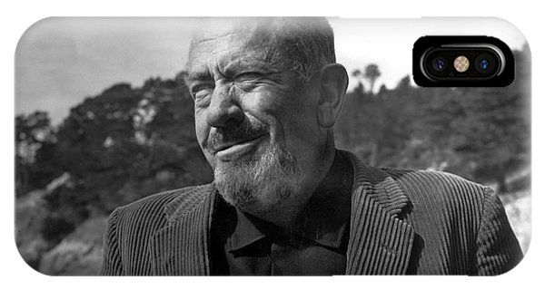 John Steinbeck Pebble Beach, Monterey, California 1960 IPhone Case