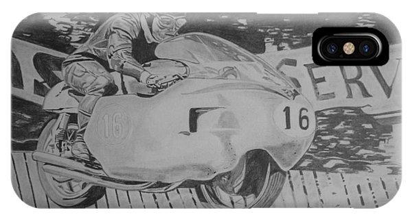 John Surtees Phone Case by Jose Mendez