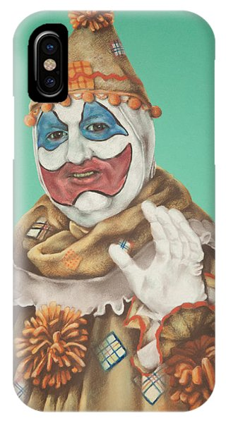 John Wayne Gacy As Pogo The Clown IPhone Case