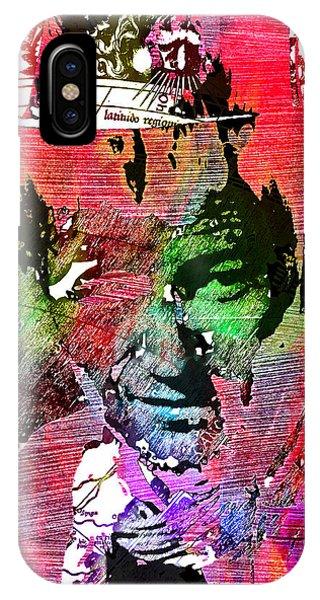 John Wayne Unmasked - Collage IPhone Case