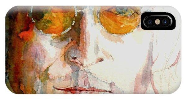The iPhone X Case - John Winston Lennon by Paul Lovering