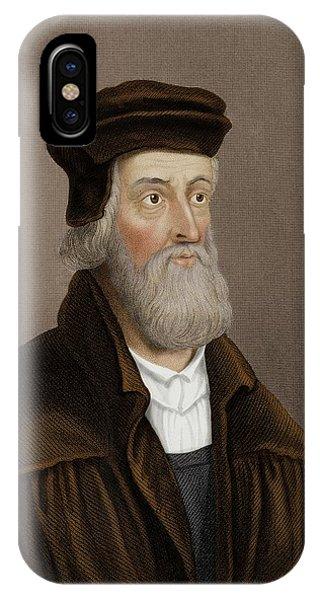 John Wycliffe IPhone Case
