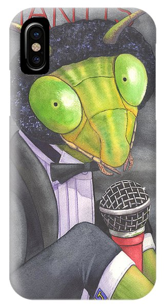 Johnny Mantis IPhone Case