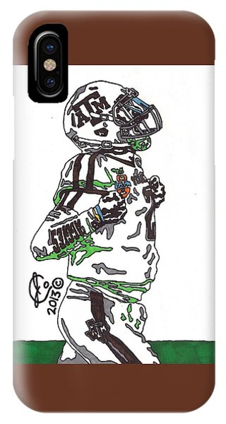 Johnny Manziel 4 IPhone Case