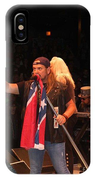 Johnny Van Zant Of Lynyrd Skynyrd IPhone Case