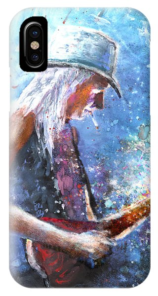 Johnny Winter IPhone Case