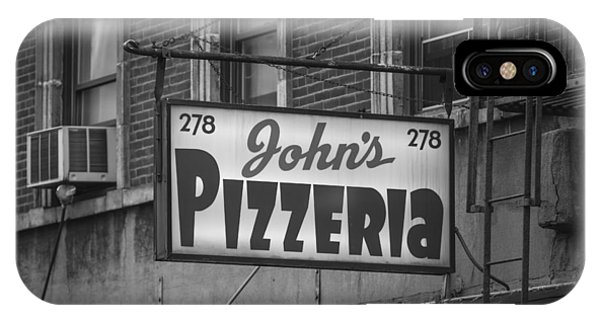 John's Pizzeria In Nyc IPhone Case