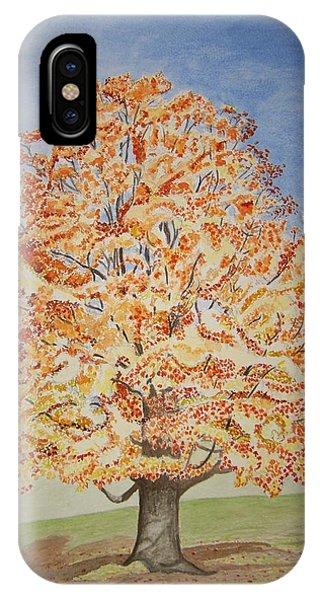 Jolanda's Maple Tree IPhone Case