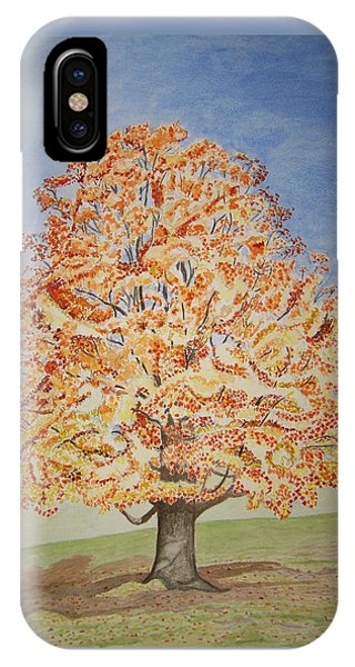 Jolanda's Maple Tree IPhone Case