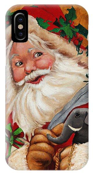 Jolly Santa IPhone Case