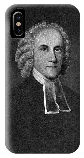 Awakening iPhone Case - Jonathan Edwards (1703-1758) by Granger