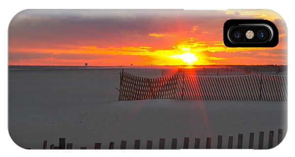 Jones Beach Sunset One IPhone Case