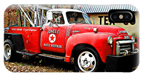 Jone's Tex Co Auto Repair IPhone Case