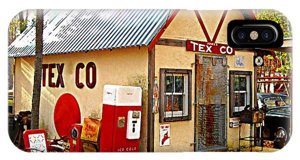 Jones' Tex Co Station IPhone Case