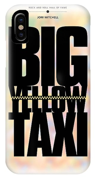 Joni Mitchell - Big Yellow Taxi IPhone Case