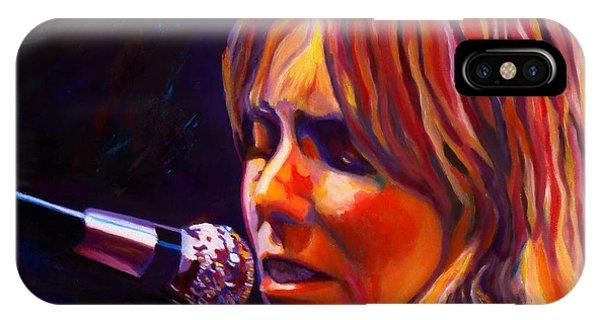 Joni Mitchell..legend IPhone Case