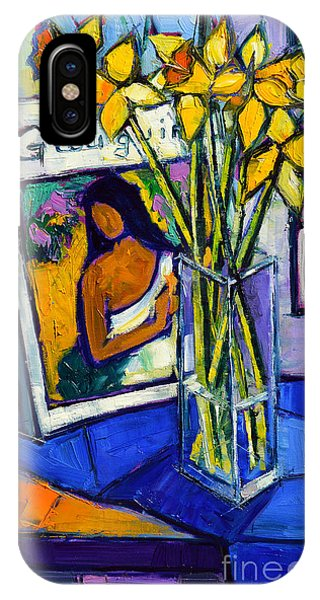 Jonquils And Gauguin IPhone Case