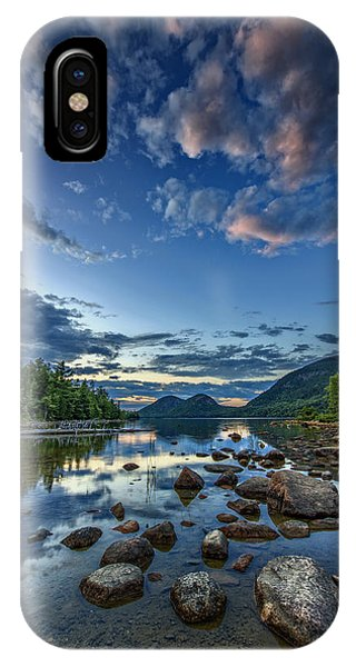 Jordan Pond IPhone Case