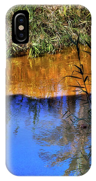 New Testament iPhone Case - Jordan River Abstract Near Bethany by William Perry