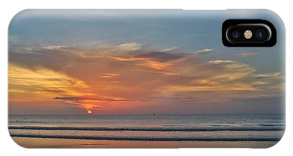 Jordan's First Sunrise IPhone Case
