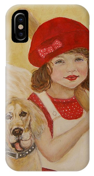 Joscelyn And Jolly Little Angel Of Playfulness IPhone Case