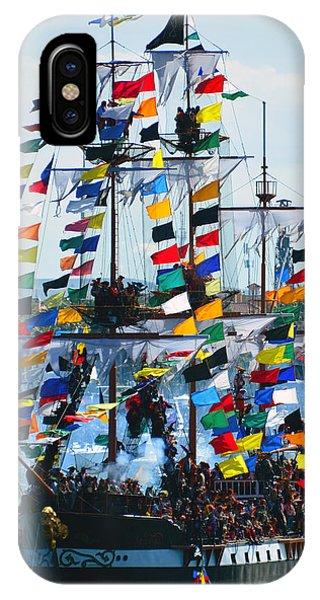 iPhone Case - Jose Gasparilla Ship Work B by David Lee Thompson
