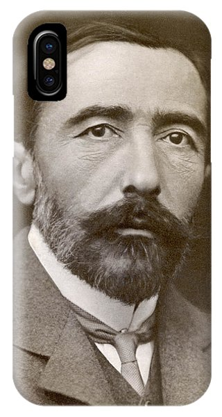 Joseph Conrad  Polish-born Writer Phone Case by Mary Evans Picture Library