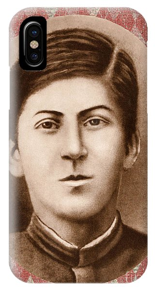 Joseph Stalin 14 Years Old IPhone Case
