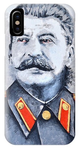 Joseph Stalin IPhone Case