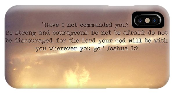 Joshua 1 IPhone Case