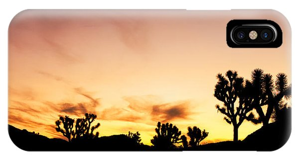 Joshua Sunrise IPhone Case