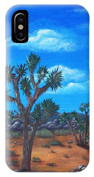 Joshua Tree Desert IPhone Case