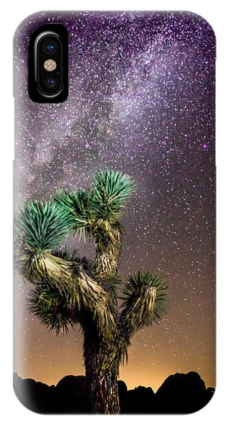 Joshua Tree Vs The Milky Way IPhone Case