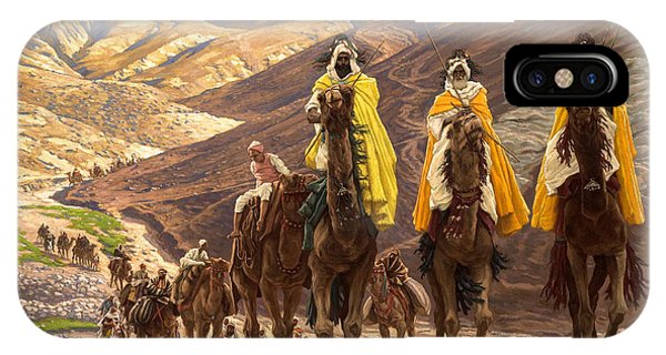 Christianity iPhone Case - Journey Of The Magi by Tissot