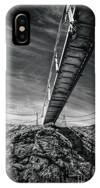 Above iPhone Case - Journey To The Centre Of The Earth by Evelina Kremsdorf