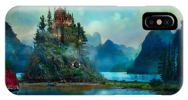 Castle iPhone X / XS Case - Journeys End by Aimee Stewart