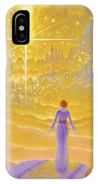 Awakening iPhone Case - Journey's End by Michael Z Tyree